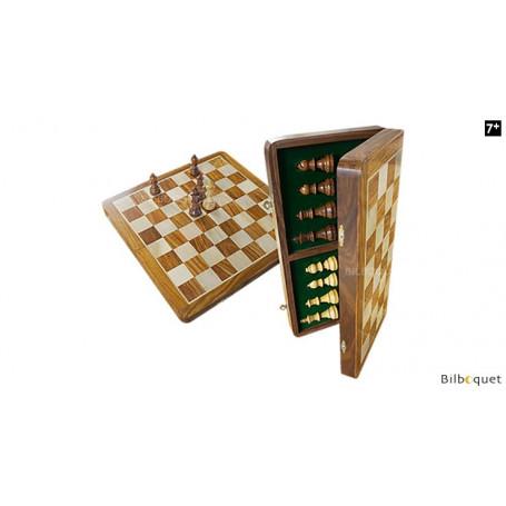 Jeu d'échecs pliable 40x40cm