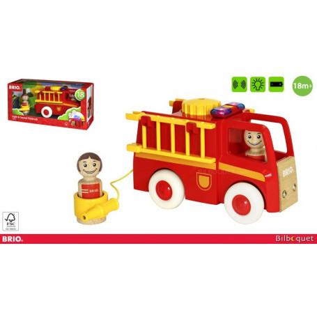 Camion de pompier son et lumière