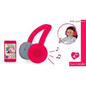 Casque audio & téléphone portable pour poupée Ma Corolle