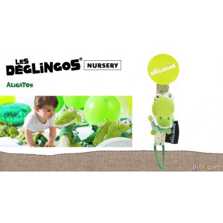 Porte-tétine Aligatos l'alligator - Déglingos Nursery
