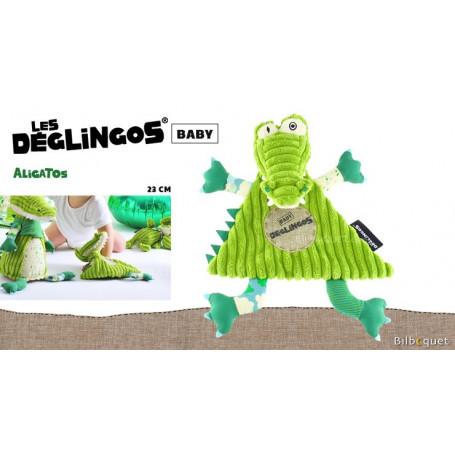 Doudou Aligatos l'Alligator 23cm - Déglingos Baby