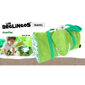 Sac de voyage Aligatos l'Alligator - Déglingos Travel Bags