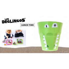 Timbale Bébé Aligatos l'Alligator - Déglingos Lunch Time