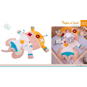 Tapis d'éveil pour bébé - Éléphant