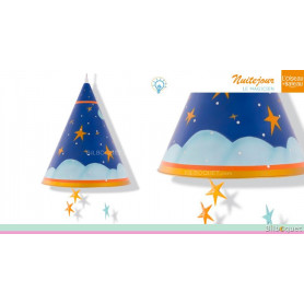 Mobile lumineux Magicien - Nuitéjour