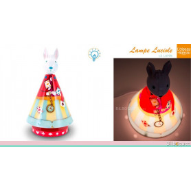 Lampe Luciole - Le lapin