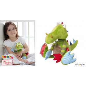 Peluche Dragon 32cm - Patchwork-Sweety