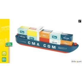 Grand bateau porte-containeurs Vilacity