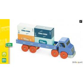 Camion porte-containeurs Vilacity - Jouet en bois