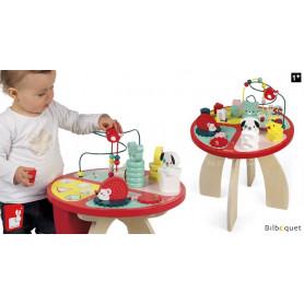 Table d'activités Baby Forest - Jouet en bois