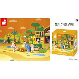Safari - Mini Story - 8 personnages et accessoires