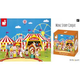 Cirque - Mini Story - 11 personnages et accessoires