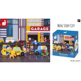 Garage City - Mini Story - 8 personnages et accessoires