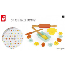 Set de Pâtisserie silicone Happy Day - Jouet d'imitation