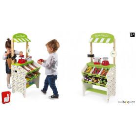 Épicerie Green Market avec 32 accessoires - Jouet d'imiation