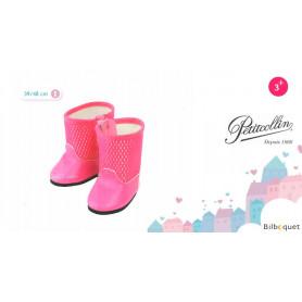 Paire de bottes roses pour poupée de 39 à 48cm