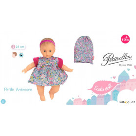 Poupon Ecolo Doll Petite Anémone 25cm
