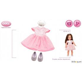 Tenue complète Ensemble Royal - Vêtement pour poupée 45-50cm