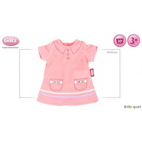 Robe-polo - Vêtement pour poupée 45-50cm