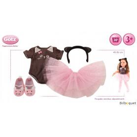 Tenue complète Chaton - Silver - Vêtement pour poupée 45-50cm