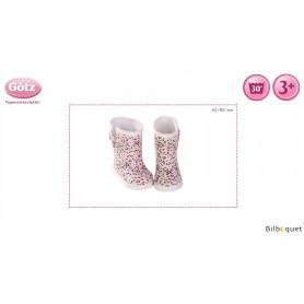 Paire de bottes de pluie - Vêtements et accessoires pour poupées 42 à 50cm