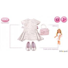 Tenue complète Amélie - Vêtement pour poupée 45-50cm