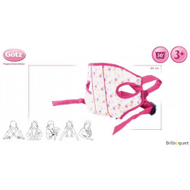 Porte-bébé ventral pour poupée jusqu'à 48cm