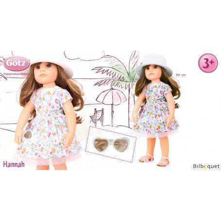 Hannah en tenue estivale - Poupée articulée Götz en série limitée - 50cm