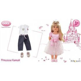 Princesse Hannah - Poupée articulée Götz en série limitée - 50cm