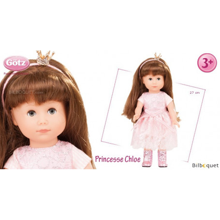 Princesse Chloe - Poupée Götz Just Like Me 27cm