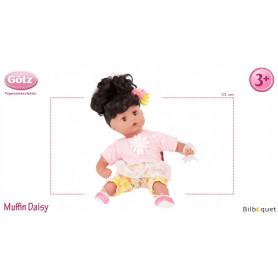 Muffin Daisy Do 33cm - cheveux noirs - Poupée Götz Corps souple