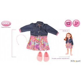 Tenue complète Pop Art - Vêtement pour poupée 45-50cm