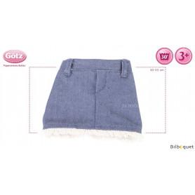 Jupe en Jean Coolness - Vêtement pour poupée 30-33cm