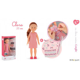 Ma Chérie Création Coffret Clara 33cm
