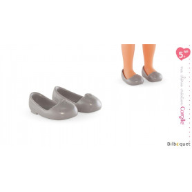 Paire de ballerines grises 33cm - ma chérie création