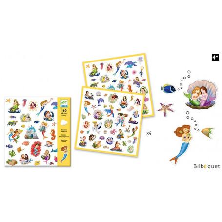 Sirènes - 160 Stickers