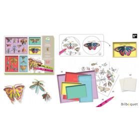 Feutres pinceaux Cabinet de curiosités-8/14 ans