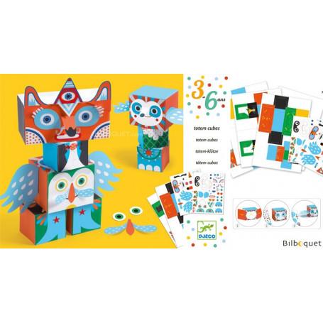 Petits cadeaux des petits Drôles de bêtes-Totem cubes