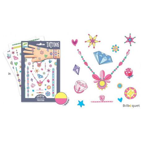 Tatouages éphémères pour enfants-Les bijoux de Jenni
