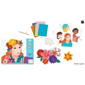 Papier créatif Jeunes filles en fleurs 7-13ans