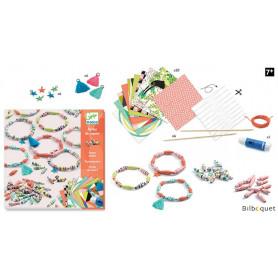 Papier créatif Bracelets de printemps-Perles de papier