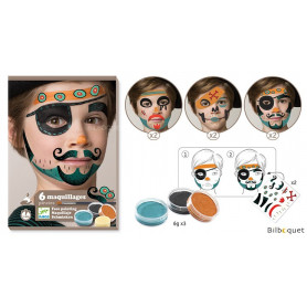 Coffret Maquillage Pirate +3ans