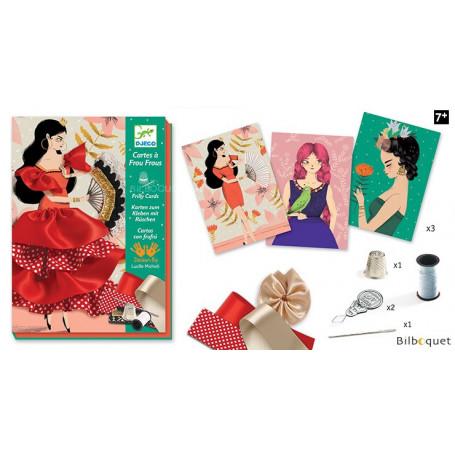 L'art du fil Couture Cartes à frou-frous Flamenco 7-13ans