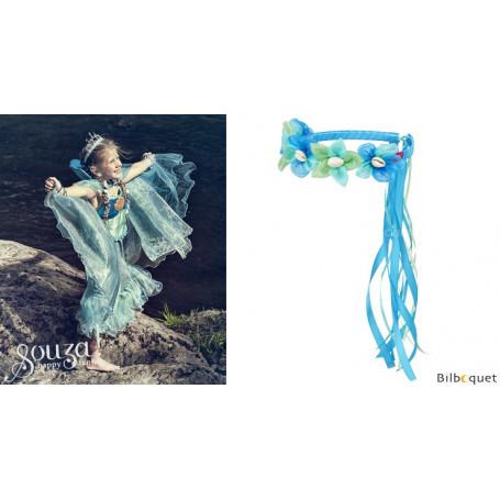 Couronne de fleurs sirène Maryola - Accessoire pour déguisement enfant