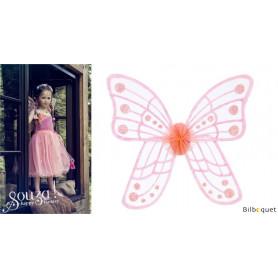 Yoline - Ailes de fée roses - déguisement enfant
