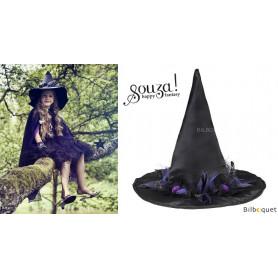 Chapeau de sorcière Cara - Noir - Accessoire fille