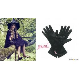 Gants de sorcière Cara - Noir - Accessoire fille