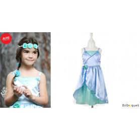 Robe Flore - bleu/vert - Déguisement fille