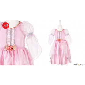 Robe rose Elvera - Déguisement fille
