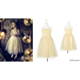 Robe Barbara - Champagne - Déguisement fille